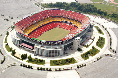 Top Down view of FedEx Stadium