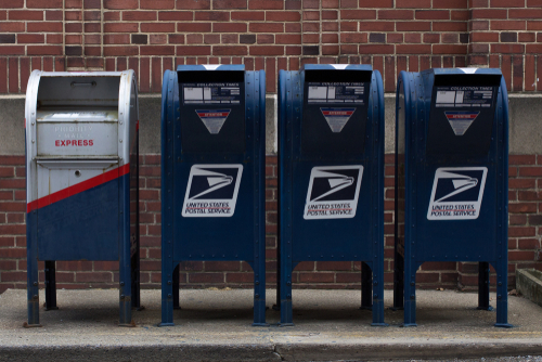 4 Post office drop boxes
